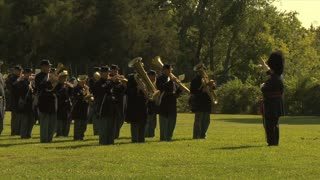 Civil War Band Plays 2