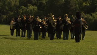 Civil War Band Plays
