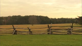 Civil War Battlefield Wide