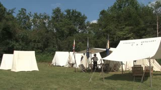 Civil War Camp Site