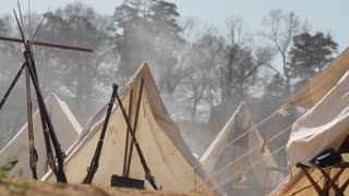 Civil War Camp Tents