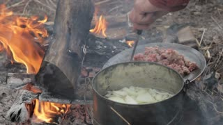 Civil War Campfire Cooking