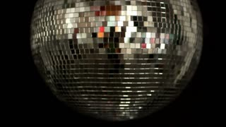 Classic Disco Ball Spinning