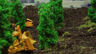 Claymation Tree Clearing