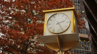 Clock in City Square