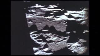Close Up Lunar Surface