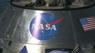 Close Up NASA Orion Module