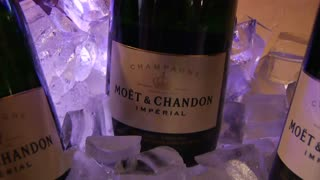 Close-up On My Champagne Bottle