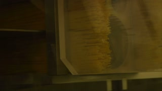 Close-up On Spaghetti Packing Machine