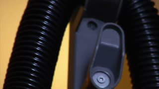 Close-up On Vacuum Cleaner Electrical Cord