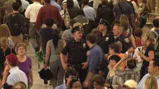 Closeup of Crowd at Grand Central Station 2