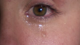 Closeup of Eye with Tears 2