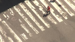Closeup of New York City Crosswalk 3