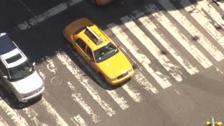 Closeup of New York City Crosswalk
