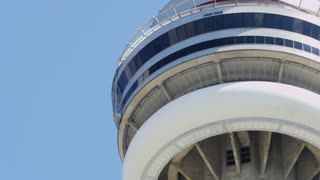Closeup on CN Tower
