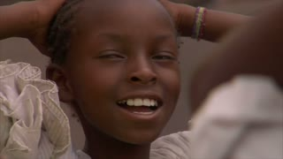 Closeup on Little Childs Face in Kenya 2