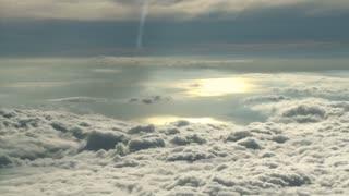 Cloud Landscape Reflective Sun Timelapse
