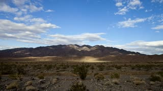 Cloud Shadows Over Death Valley