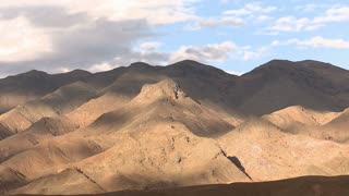 Cloud Shadows Over Desert Mountains Time Lapse