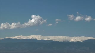Clouds Forming Over Mountains 2