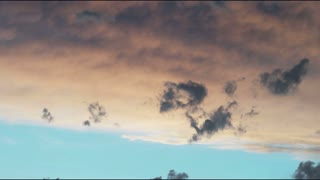 Clouds in Sky at Dusk in Salt Lake City 3