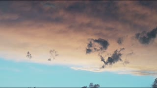 Clouds in Sky at Dusk in Salt Lake City 4