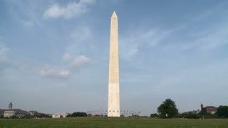 Clouds Over DC Monument Timelapse