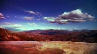 Clouds Over Hierve el Agua