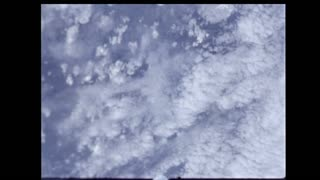 Clouds Passing By From Space
