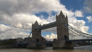 Clouds Passing Over Tower Bridge