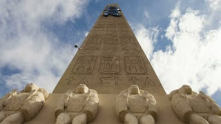 Clouds Shifting Over Luxor Obelisk