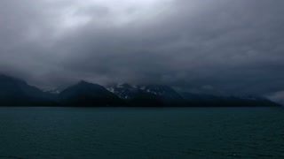 Cloudy and Gloomy Day in Alaska
