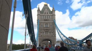 Cloudy Blue Sky Over Tower Bridge