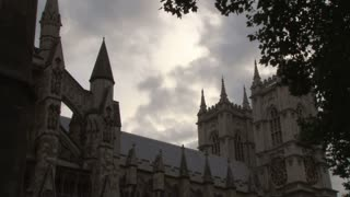 Cloudy Sky Above Westminster Abbey