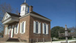Colonial Courthouse Williamsburg