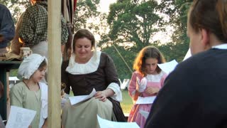 Colonial Family Sings