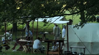 Colonial Reenactment Camp