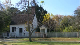 Colonial Williamsburg Cottage Winter