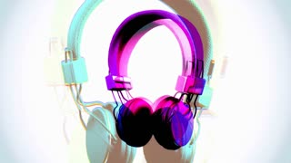 Color Changing Grunge Headphones