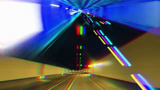 Color Overlay Tunnel
