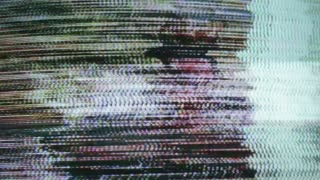 Color TV Static Blur