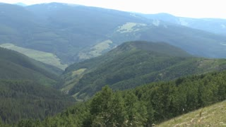 Colorado Mountainside and Valley in Summer 6