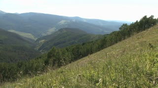 Colorado Mountainside and Valley in Summer 8