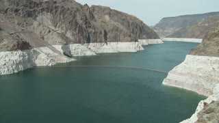 Colorado River Entering Hoover Dam Timelapse