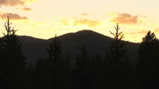 Colorado Summer Sunset and Mountain Skyline 2