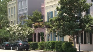 Colored Charleston Homes
