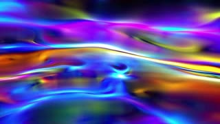 Colorful abstract energy lines background loop
