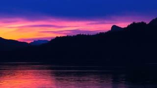 Colorful Alaskan Sunset