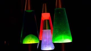 Colorful Lava Lamps