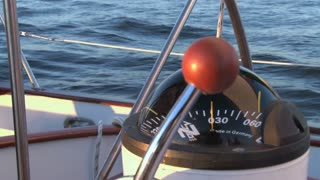 Compass on a Sailboat Still